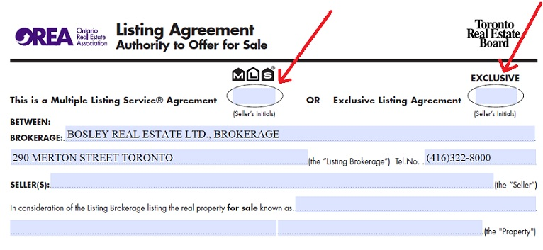 Exclusive Listings Toronto Realty Blog