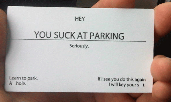 BadParkingCards