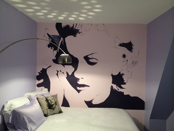 Perfect ... Mural Of Marilyn Monroe On The. Photos Of The Week Real Estate Property  S Wall ...