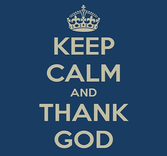 KeepCalmThankGod